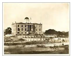 Texas State Capitol building - 1885